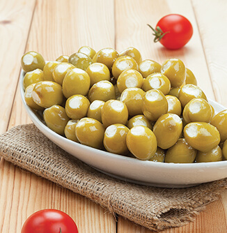 Green Olives Stuffed with Cheese